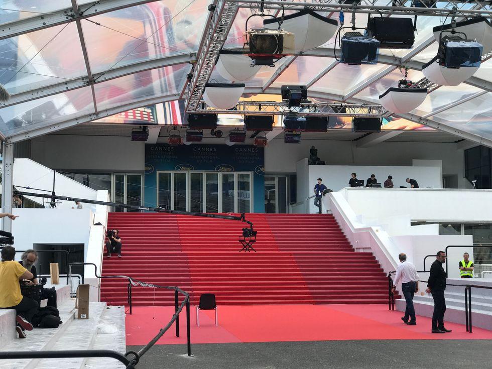 Cannes, prima della premiazione