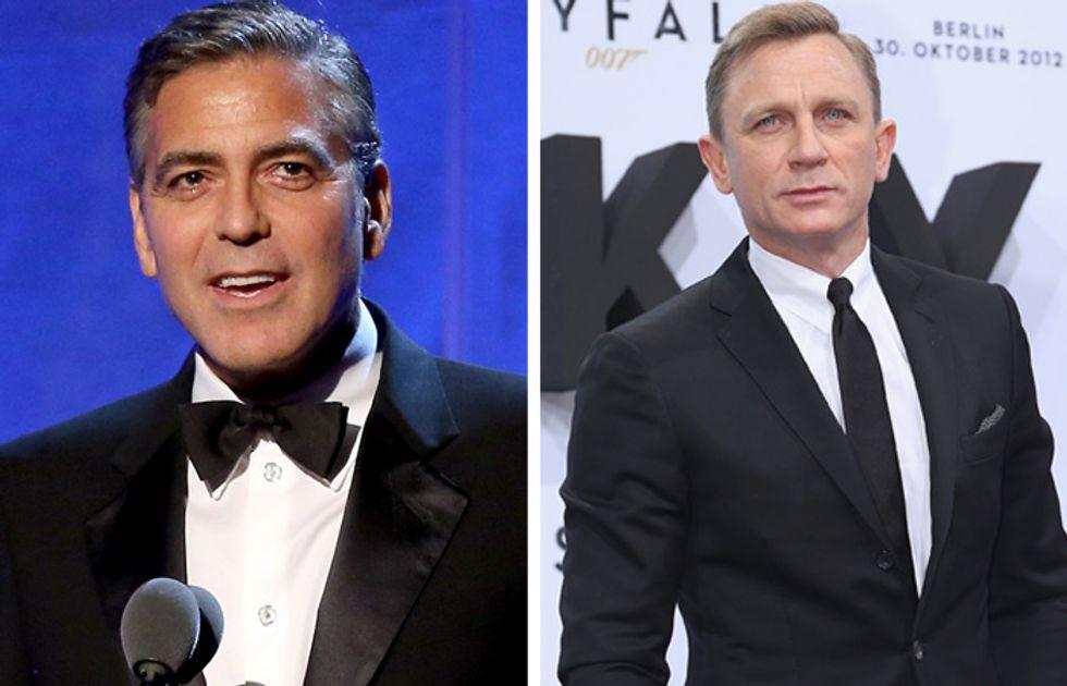 George Clooney e James Bond non sono gay