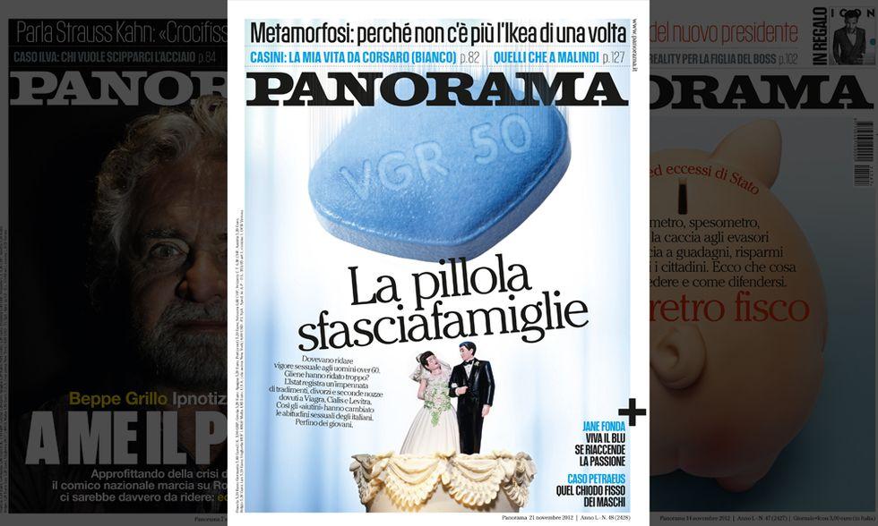 Le pillole che cambiano il sesso (e la vita). Su Panorama in edicola dal 15 novembre