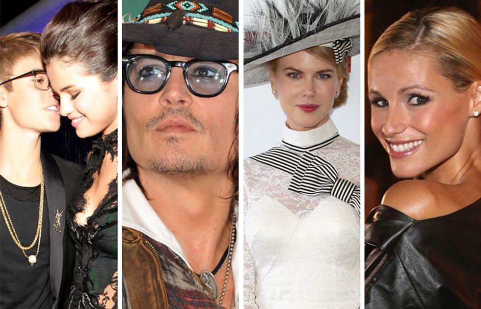 Justin Bieber e Selena Gomez tornano insieme, Johnny Depp regala i One Direction, Nicole Kidman parla di Tom Cruise