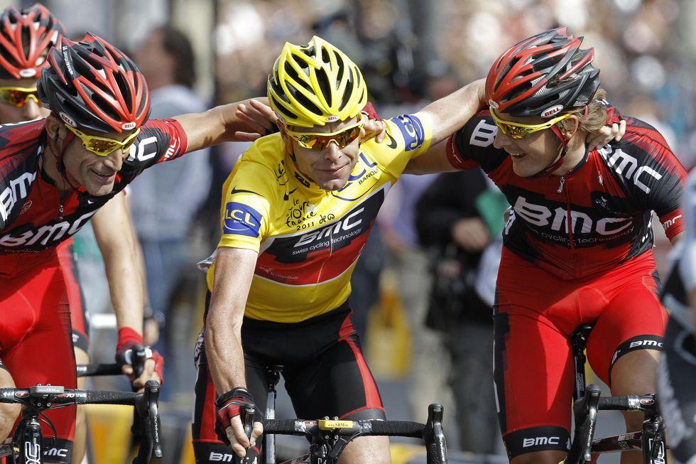 Al via il Tour de France 2012, i grandi nomi a caccia della maglia gialla
