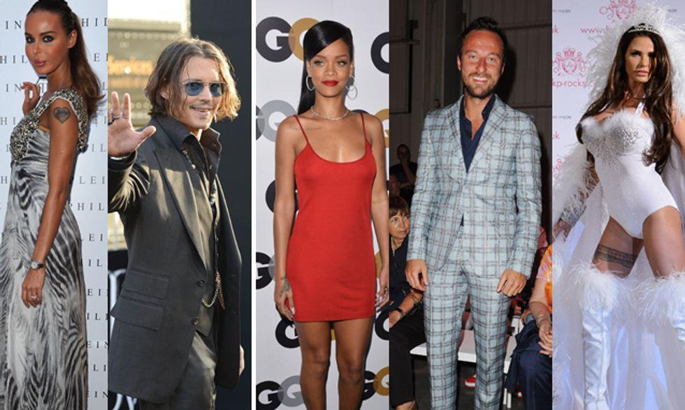 Johnny Depp regala alla figlia i One Direction mentre Francesco Facchinetti fa outing con Gabibbo