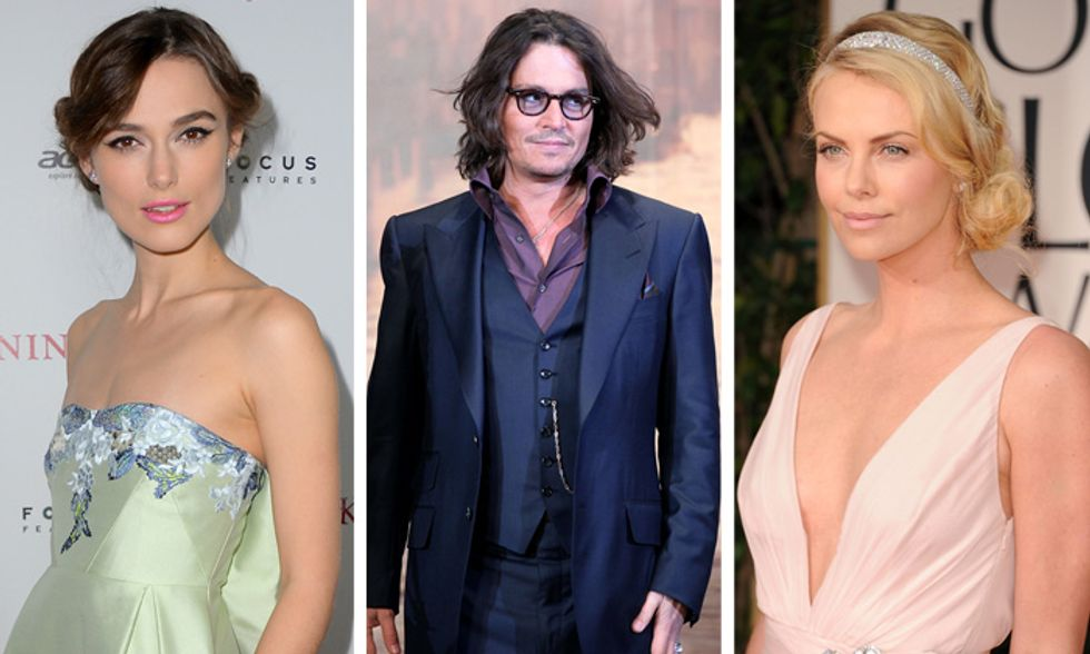 Stranezze da star: il fantasma di Keira Knightley, la fobia di Johnny Depp, la mania di Charlize Theron