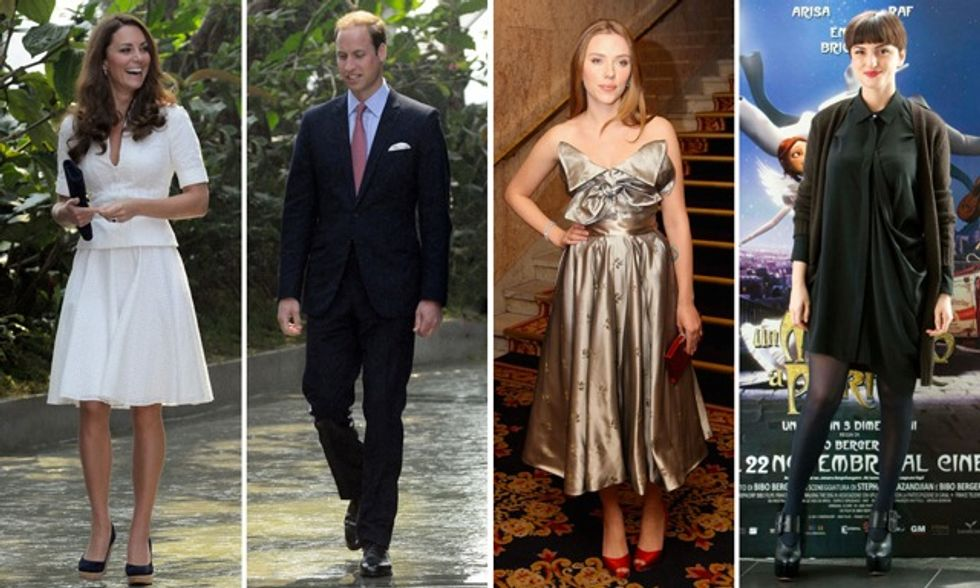 Kate Middleton rifiuta i vestiti di Kim Kardashian mentre Arisa parla di bisessualità