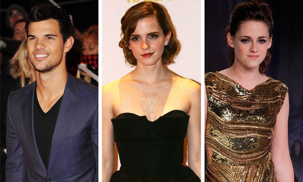 Da Taylor Lautner a Emma Watson, quando il successo fa a pugni con il cuore