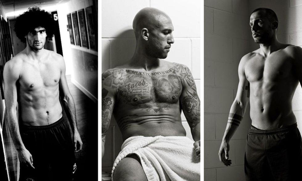 12 sfumature di Blu: il calendario sexy dei calciatori dell'Everton