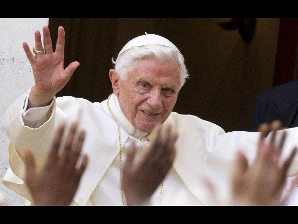 Anche il Papa su Twitter