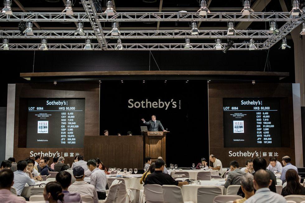 Sotheby's, l'asta più brillante dell'anno