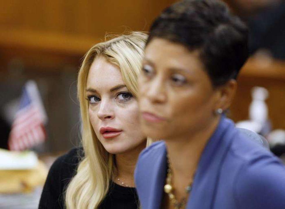 Lindsay Lohan di nuovo in carcere