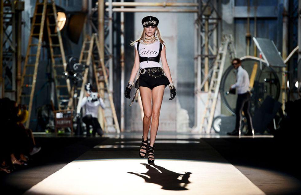 Cara Delevingne, modella dell'anno ai British Fashion Awards 2012