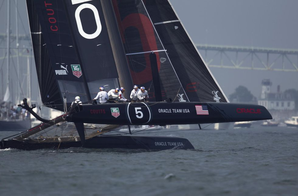 America's Cup: Oracle vince a Newport