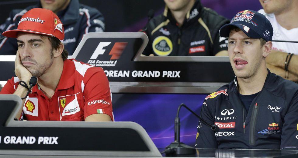 F1, Gp Corea. Alonso vs Vettel, vietato sbagliare