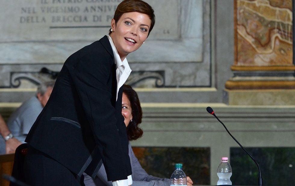 """Vittoria Belvedere: """"Orgogliosa di essere il volto rassicurante della tv"""""""