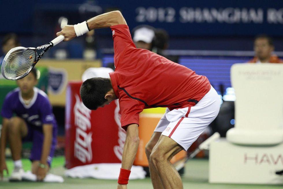 Il tennis riscopre il 'racket abuse': rompere la racchetta è terapeutico