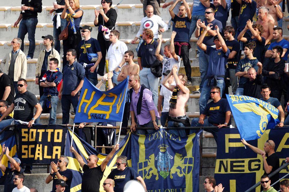 Senza vergogna: cori contro Morosini? 50.000 euro di multa