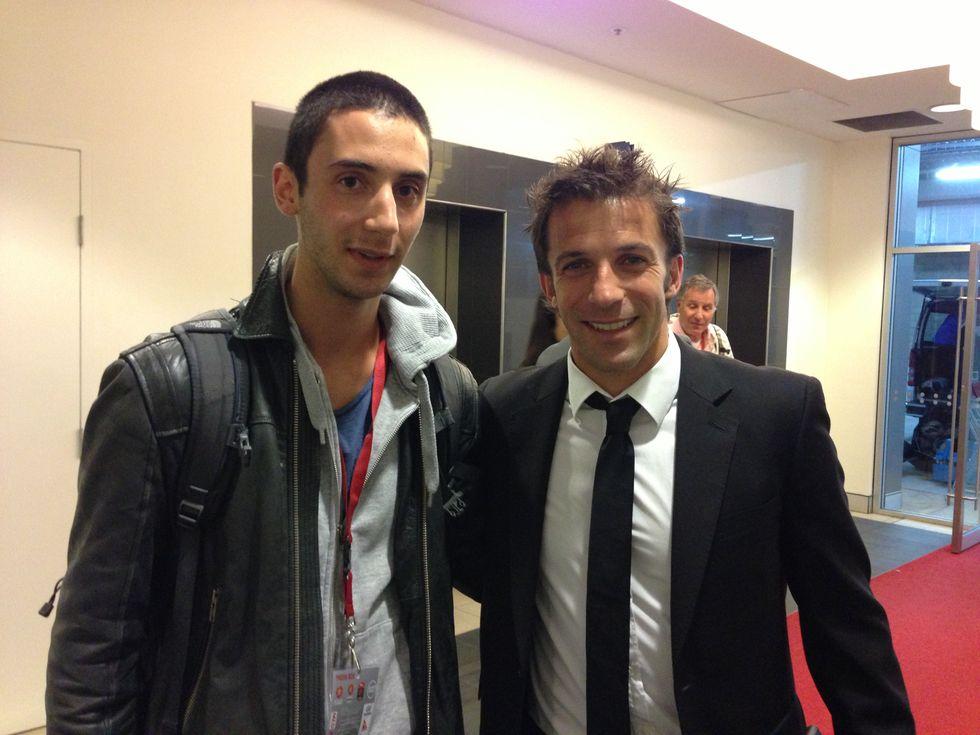 """Del Piero fa """"800"""" in carriera. Io c'ero"""