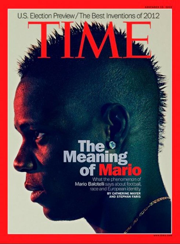 Mario Balotelli in copertina su Time