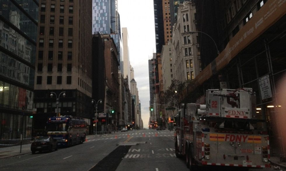 New York, l'uragano Sandy, la maratona annullata e la mia delusione