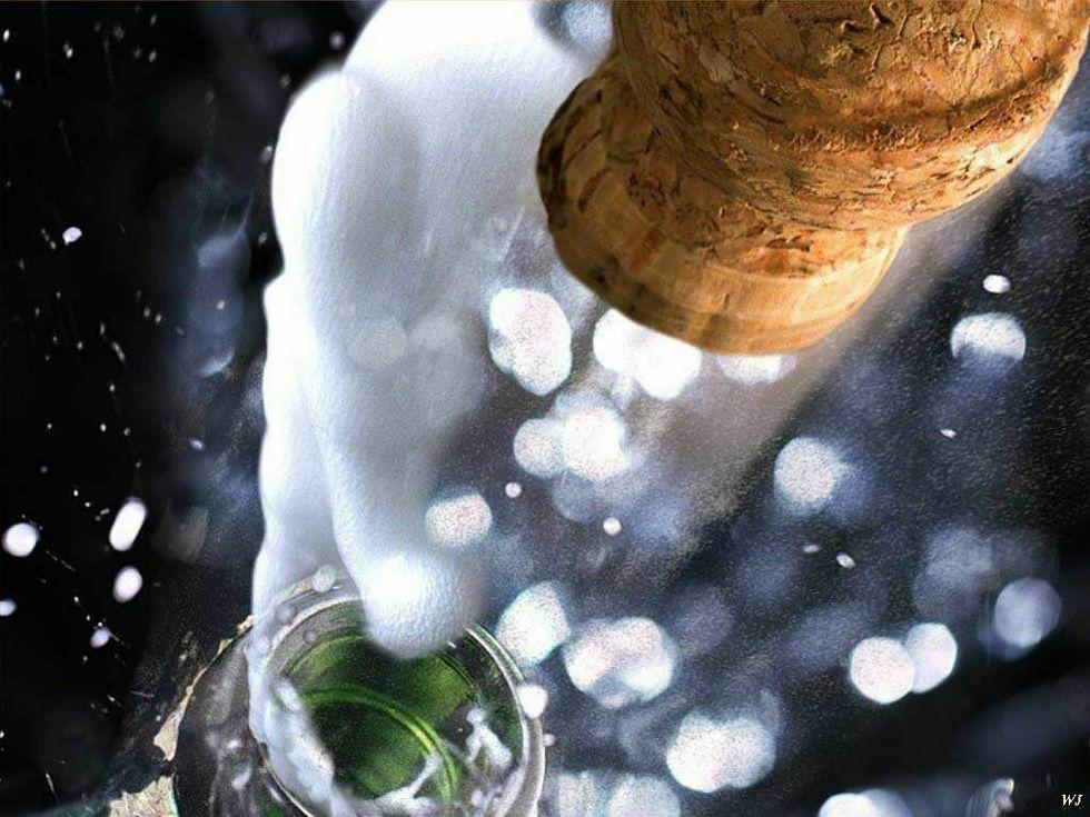 Natale: pasto a tutte bollicine
