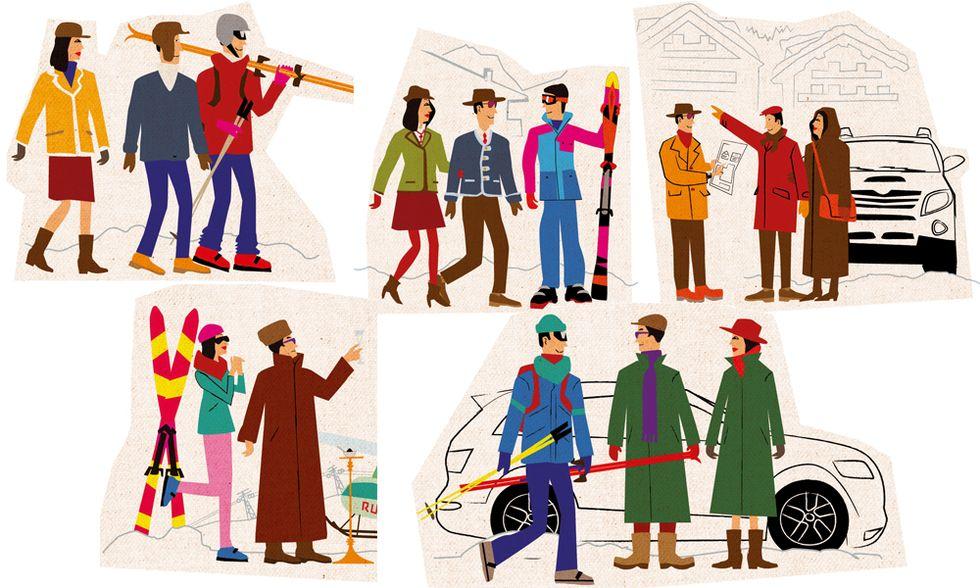 Gli abominevoli turisti delle nevi