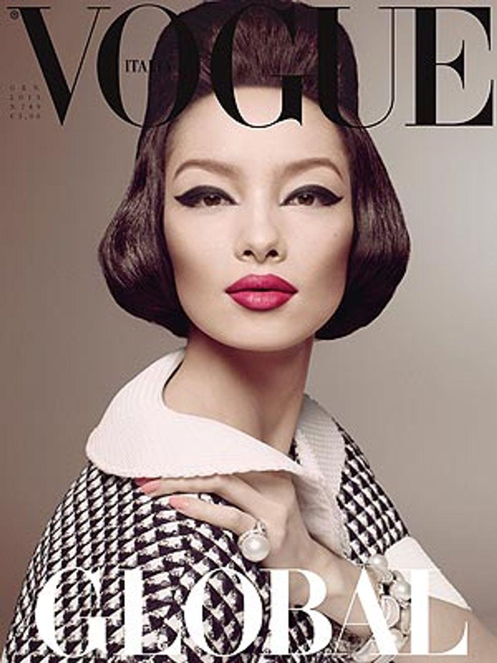 Vogue Italia, per la prima volta la cover è per una modella asiatica