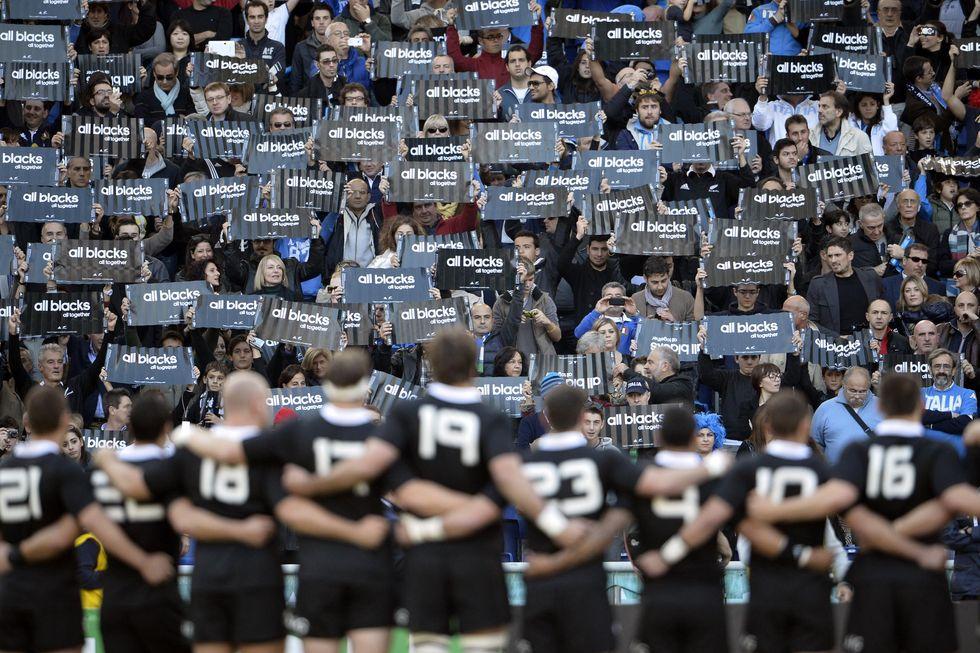 Rugby, Italia-All Blacks