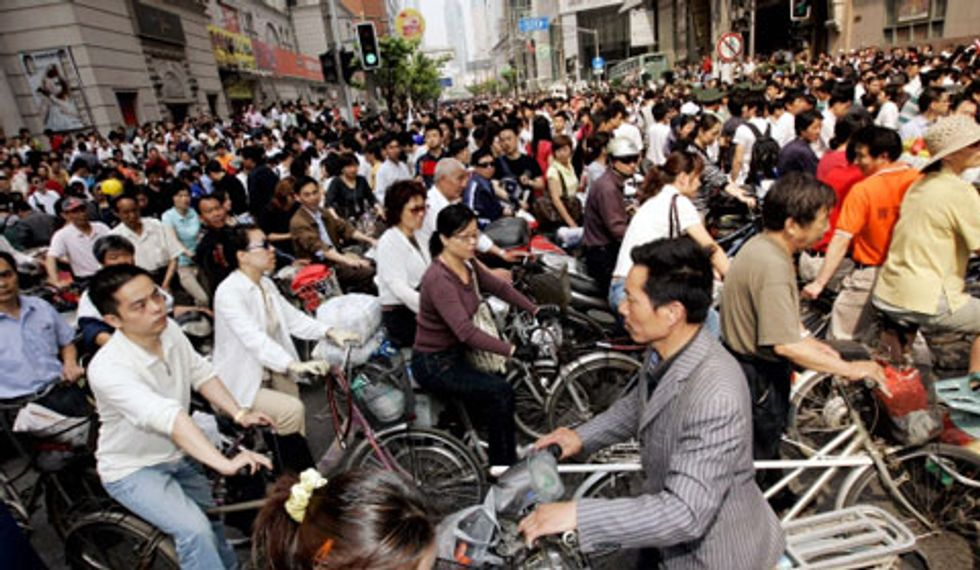 Cina: solo se hai una bici sei ricco per davvero