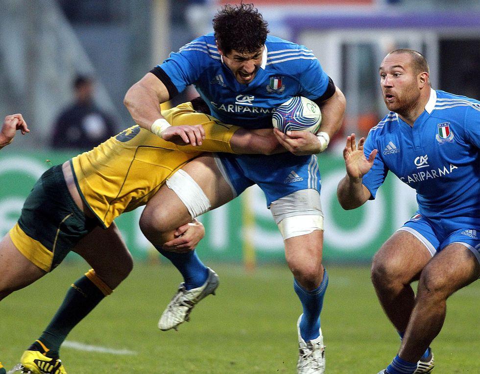 Rugby, l'Australia sfinita e impaurita vince a Firenze