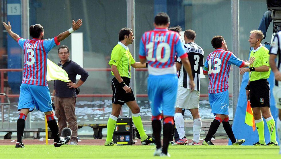 Serie A, arbitri: tutti gli errori del 2012