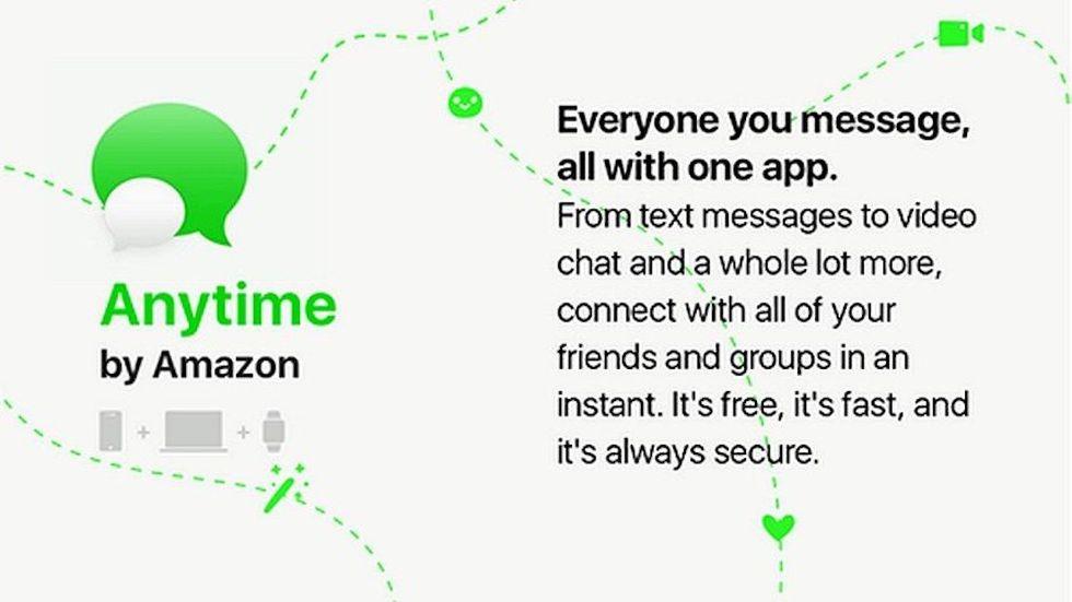 Cos'è Anytime, il WhatsApp di Amazon
