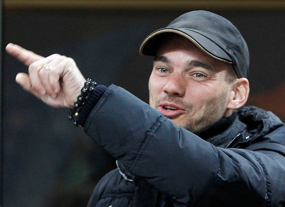 Ciao Sneijder, ex 'top player'