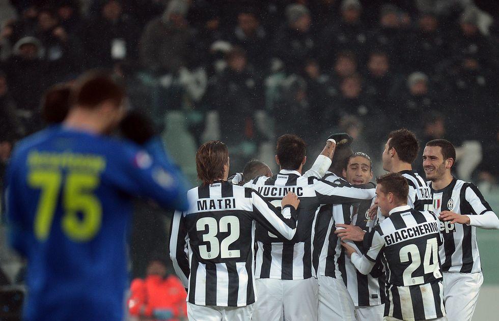 Io, ospite Vip allo Juventus Stadium