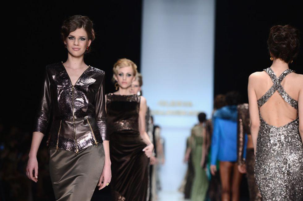 In passerella: Mosca Fashion Week