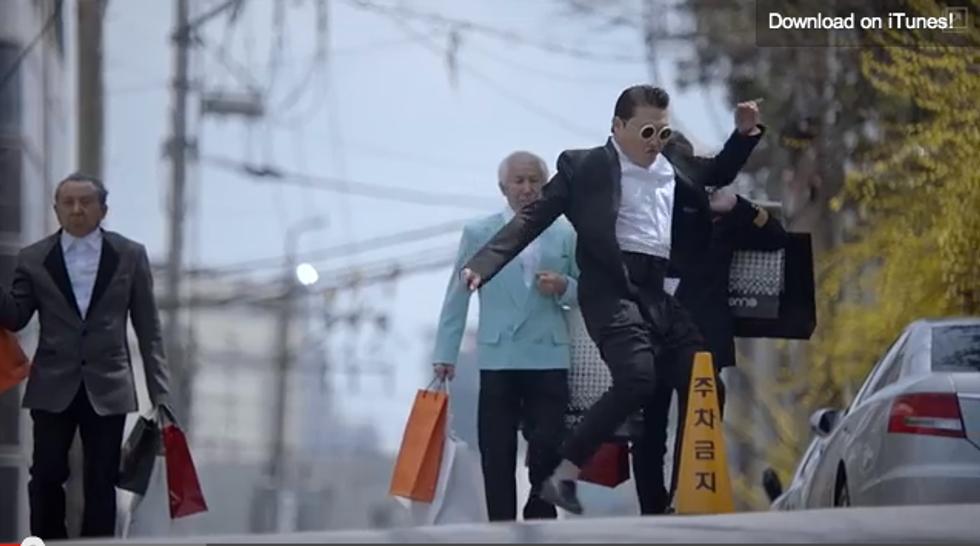 Psy censurato dalla Corea del Sud