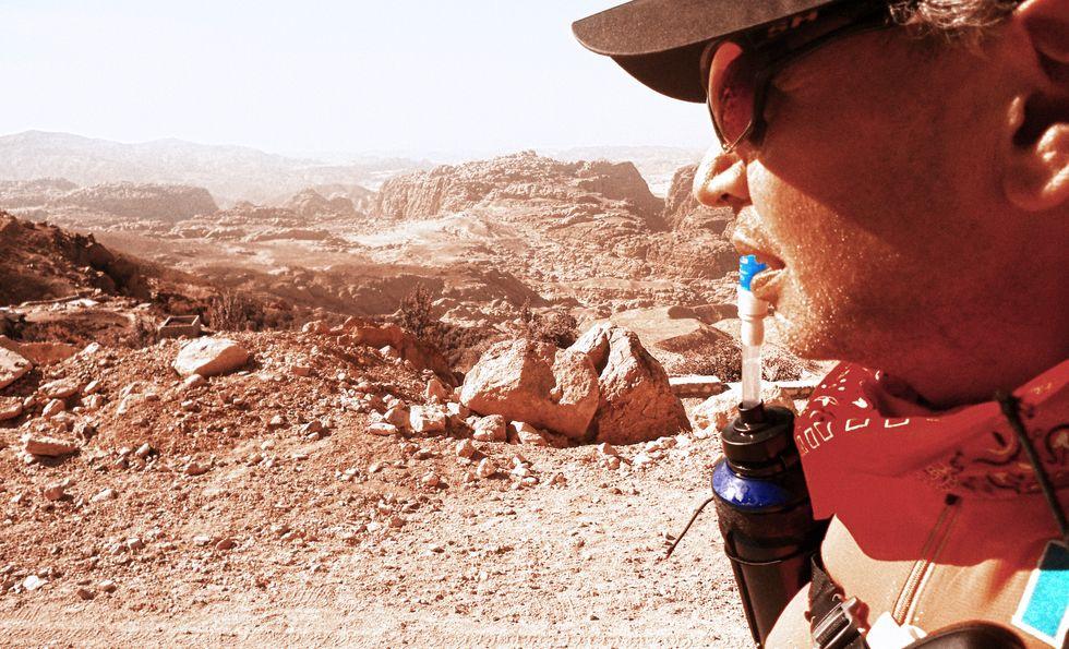 Giuliano Pugolotti, il runner dei deserti