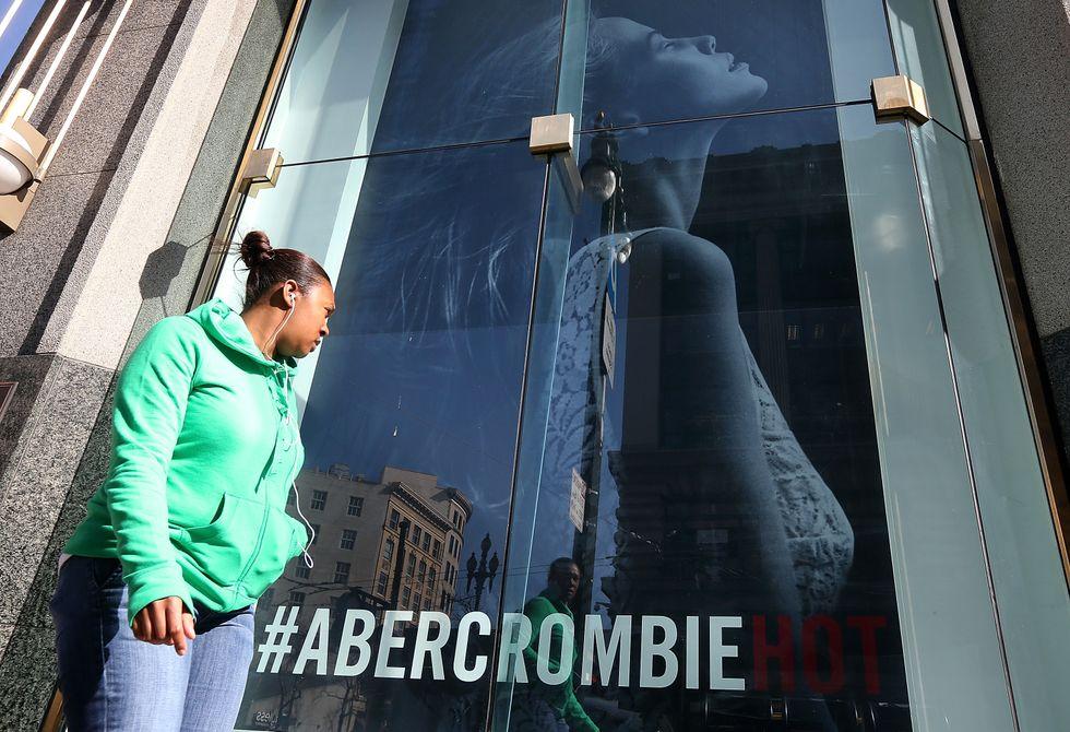 Per Abercrombie & Fitch solo clienti belli e magri