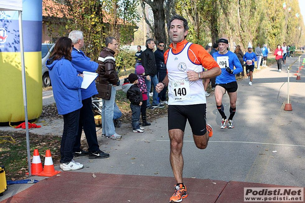 Io, Alberto, contro la Maratona di Milano