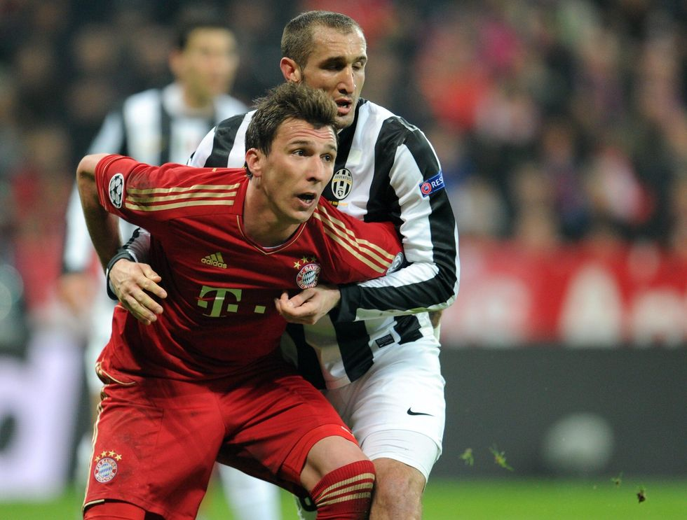 Juventus-Bayern, la festa del bagarino
