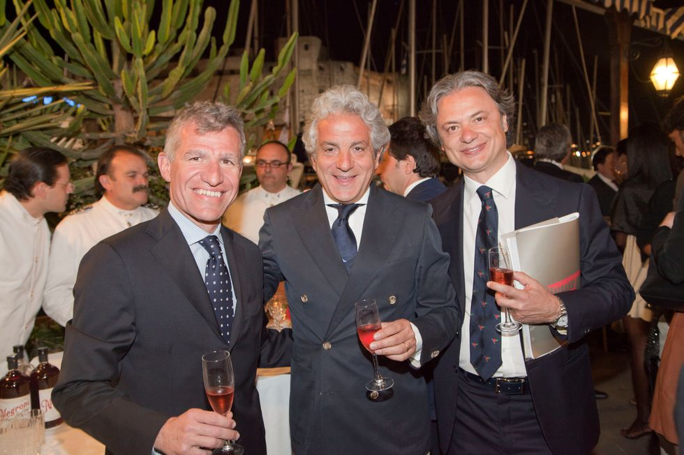 Mondadori e Panorama: cena di gala a Napoli per la Coppa America