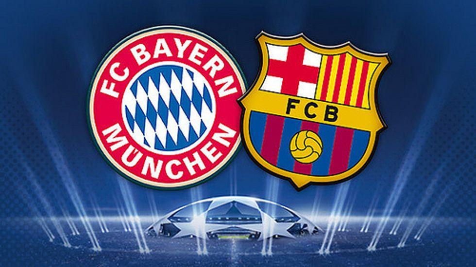 Bayern Monaco - Barcellona, la sfida dell'anno
