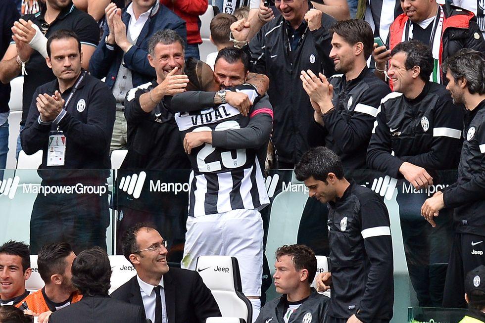 Juventus - Palermo, la diretta della festa scudetto