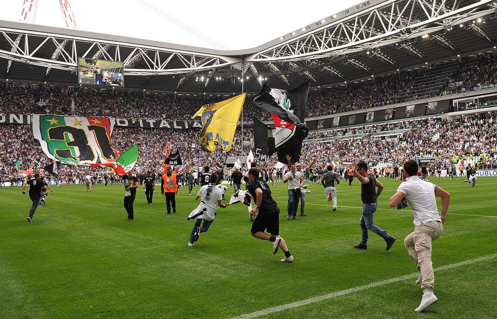 Juventus, le immagini della festa scudetto