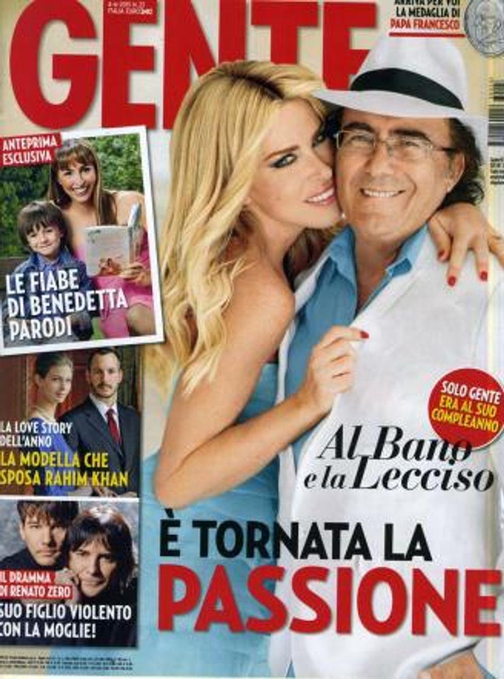 """Al Bano: """"Con la Lecciso è tornato il sereno"""""""