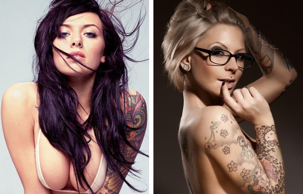 Tattoo Girls: il boom dei reality show