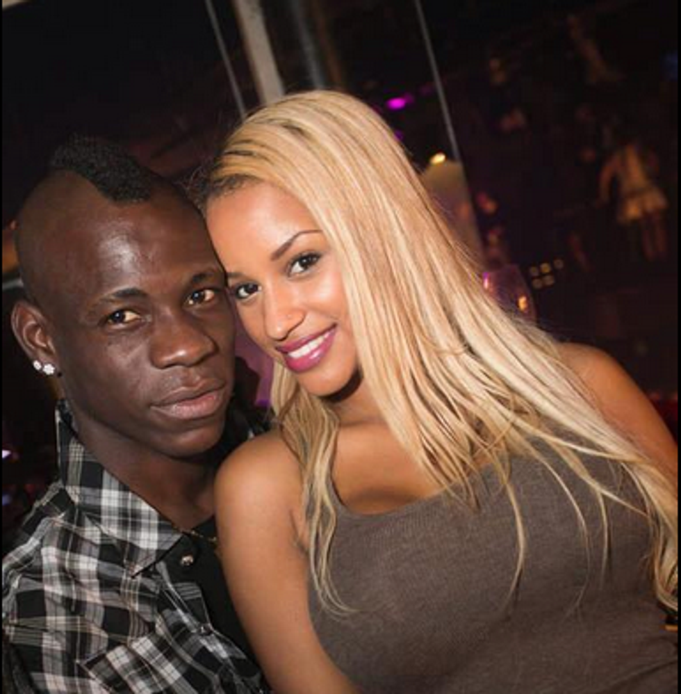 """Mario Balotelli: """"Fanny, mi vuoi sposare?"""""""