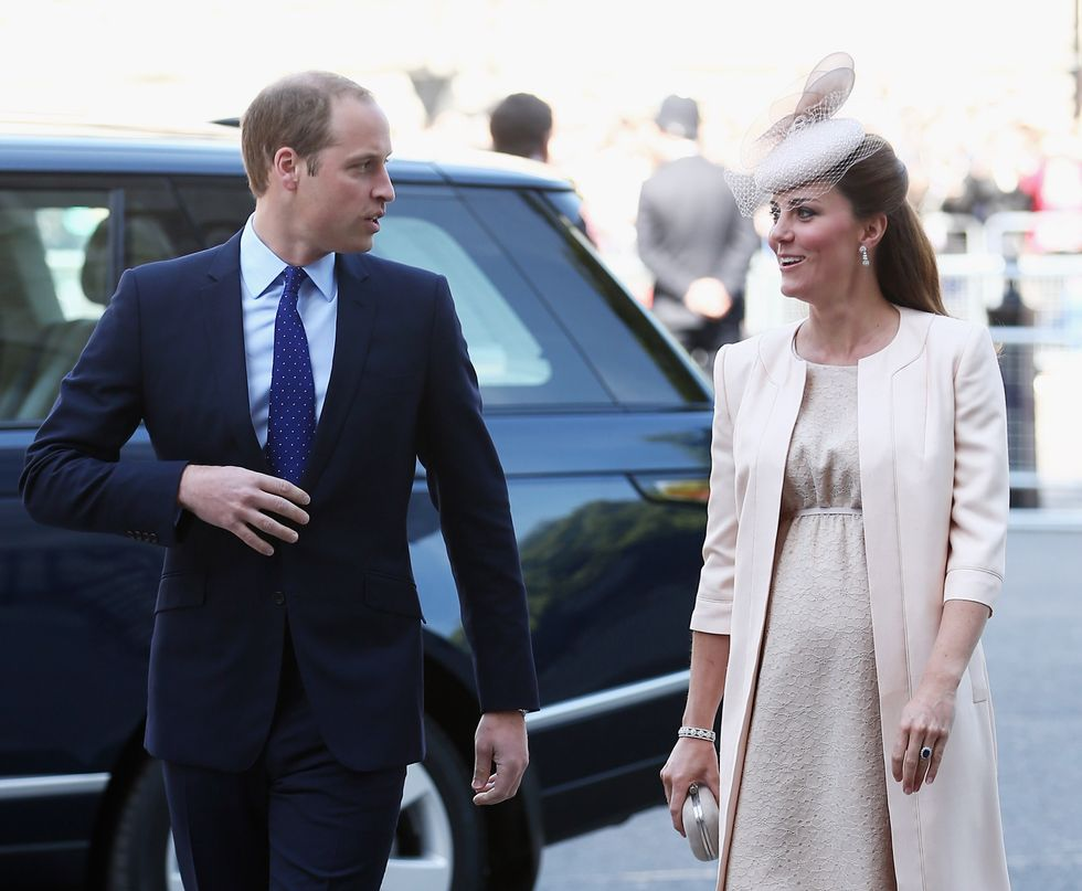 Baby Royal, William infrange il protocollo Reale