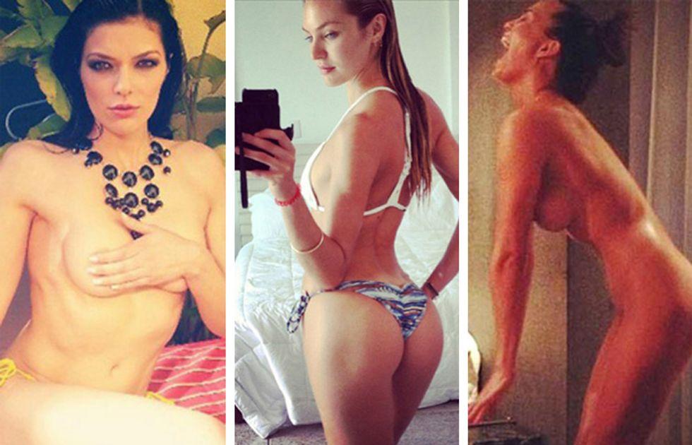 Social Network: le star a nudo