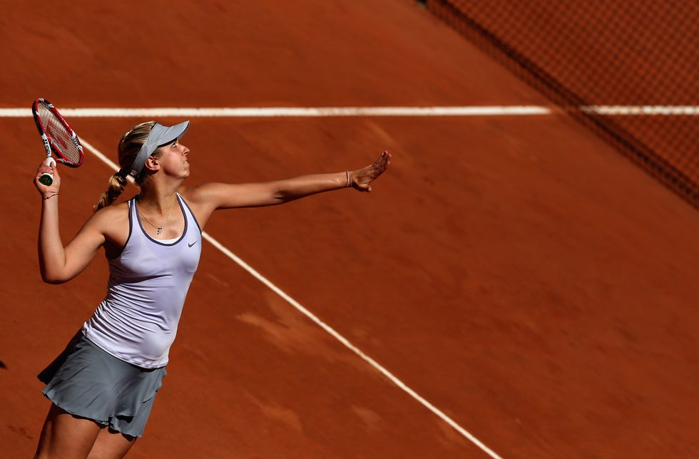 Le bellezze del tennis agli Internazionali di Roma