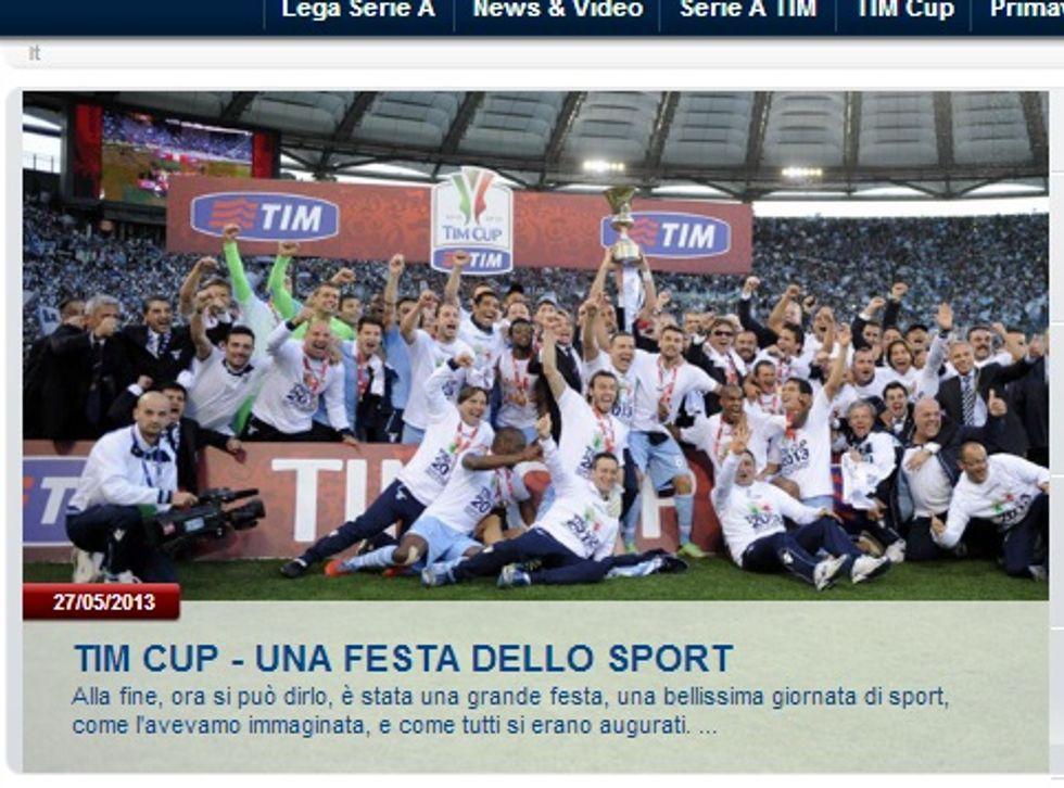 """E per la Lega il derby di Roma diventa una """"festa dello sport"""""""