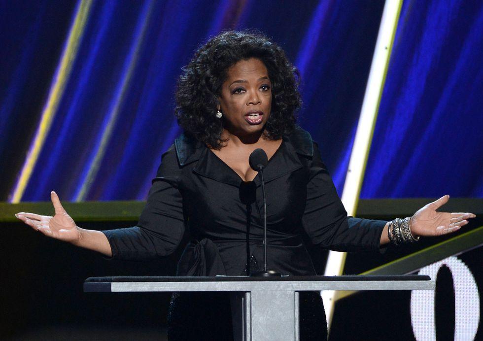 Oprah Winfrey e il giallo della borsa svizzera